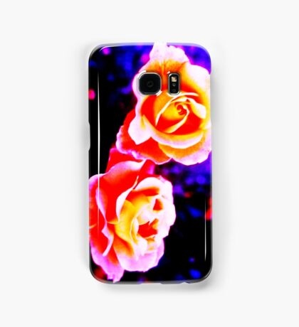 Psychedelic Roses Samsung Galaxy Case/Skin
