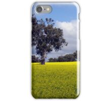 an agricultural yellow iPhone Case/Skin