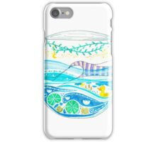 Swimming in old waters iPhone Case/Skin