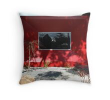 Post-Modern Facade Throw Pillow