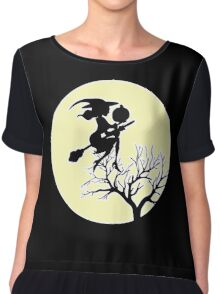 HALLOWEEN - MOONLIGHT WITCH Chiffon Top