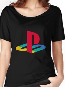 Playstation One Emblem Women's Relaxed Fit T-Shirt