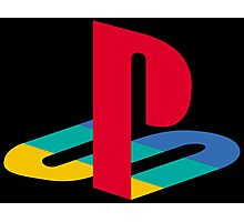 Playstation One Emblem Photographic Print