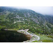 Mountainous Mysterious Landscape - Travel Photography Photographic Print