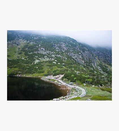 Mountainous Mysterious Landscape - Travel Photography Photographic Print