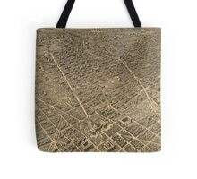 Vintage Pictorial Map of Washington D.C. (1921) Tote Bag