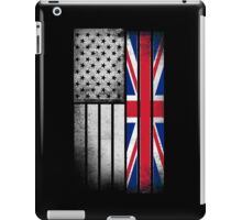 British American Flag iPad Case/Skin
