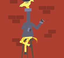 Poetic Giraffe by paulaxd