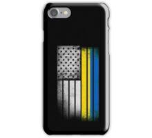 Ukrainian American Flag iPhone Case/Skin
