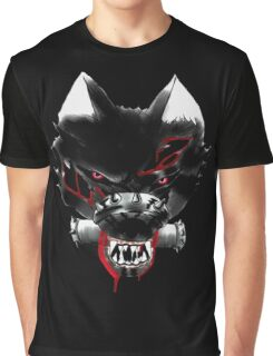 Blood Wolf Graphic T-Shirt