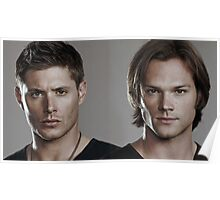 Sam And Dean Supernatural RB Poster