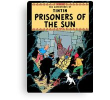Tintin - The Prisoners of the Sun Canvas Print