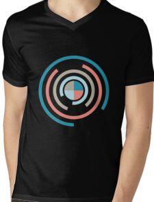 Colorful Circles V Mens V-Neck T-Shirt