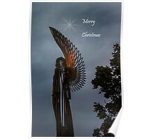 Angel At Christmas Poster