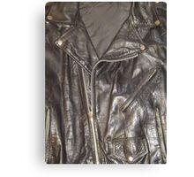 HARDCORE BIKER (Textures) Canvas Print