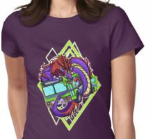 Bus Crush Womens Fitted T-Shirt