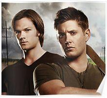 Sam And Dean Supernatural 01 Poster