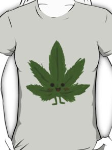 Happy Weed Cartoon T-Shirt