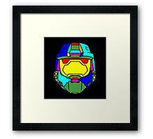 HALO (Rainbow) Framed Print