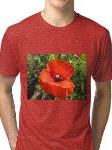 Poppy Power Tri-blend T-Shirt