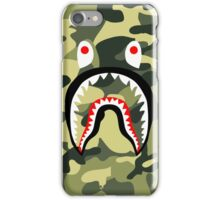 Camouflage Shark iPhone Case/Skin