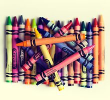 Crayons by mjkrynicka