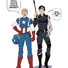 Sherlock and John go to Comic Con by lkaet