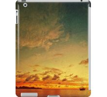A glorious Carriacou sunset iPad Case/Skin