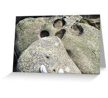 On the top of the World - Travel Photography Greeting Card