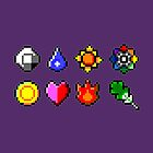 Kanto Gym Badges by GreenTheRival
