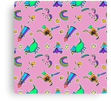 KIDS DODDLIES (pink) Canvas Print