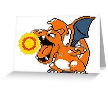 Classic Charizard Greeting Card