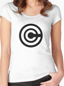 DBZ - Capsule Corp Logo Shirt Women's Fitted Scoop T-Shirt
