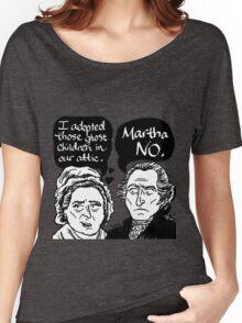 MARTHA NO Women's Relaxed Fit T-Shirt