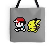 Ash and Pikachu Tote Bag