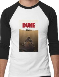 Dune Jaws Men's Baseball ¾ T-Shirt