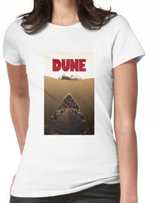 Dune Jaws Womens Fitted T-Shirt