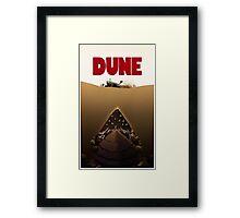 Dune Jaws Framed Print