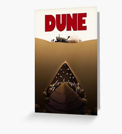 Dune Jaws Greeting Card