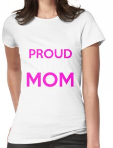 Mom - Proud Gymnastics Mom Women Gift For Mum T-shirts Womens Fitted T-Shirt