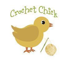 Crochet chick by Eggtooth