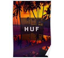 HUF WorldWide Sunset Poster
