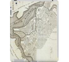 Vintage Map of Washington D.C. (1794) iPad Case/Skin