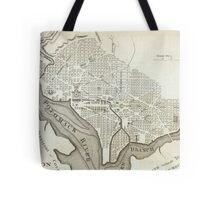 Vintage Map of Washington D.C. (1794) Tote Bag
