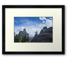 Rocky Town - Nature Photography Framed Print