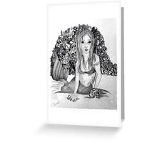 Deadly innocence  Greeting Card