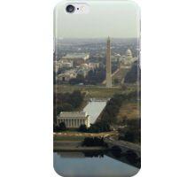 Washington DC Aerial Photograph  iPhone Case/Skin
