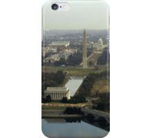 Washington DC Aerial Photograph  iPhone Case/Skin