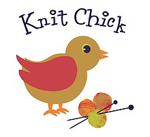 Knit Chick by Eggtooth