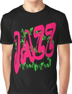 Jazz music in Red Graphic T-Shirt